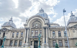 The CEC Palace. Palatul CEC. Stock Image