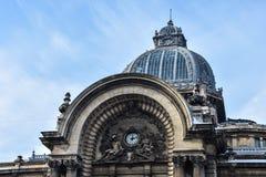 CEC Palace Palatul-CEG Royalty-vrije Stock Afbeelding
