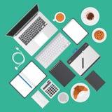 Cecha ogólna przedmioty typowi dla graficznego studia ilustracji