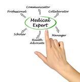 Cechy ekspert medyczny zdjęcia stock
