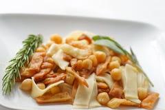 Ceci för pasta e Arkivfoto