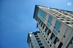 Ceci habite à Singapour Image libre de droits