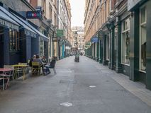 Free Cecil Court Near Leicester Square. A Narrow Pedestrianised Street Where Collectors Can Find, Coins, Books, And Music Royalty Free Stock Images - 137882739