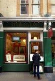 Cecil Court Print Shop Foto de archivo