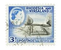 Cecil Rhodes grave Stock Photos