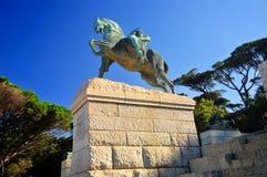 Cecil Rhodes Monument - Cape Town, Afrique du Sud Photos stock