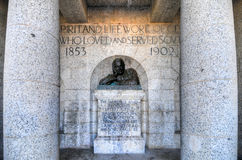 Cecil Rhodes Monument - Cape Town, South Africa Stock Image