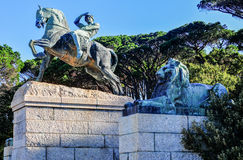 Cecil Rhodes Monument - Cape Town, South Africa Royalty Free Stock Photography