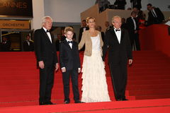 Cecile de France, Jean-Pierre Dardenne and Luc Dar Royalty Free Stock Image