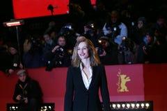 Cecile de Francja pozy na czerwonym chodniku Obraz Stock