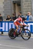 Cecile Ludwing, Dinamarca. Championshi do mundo da estrada de UCI Fotografia de Stock