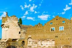 Cecilia Metella-graf in Rome, Italië Royalty-vrije Stock Foto's