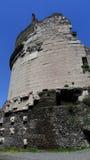 Cecilia Metella Mausoleum, Appia Antica, Rom Lizenzfreies Stockbild