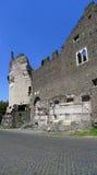 Cecilia Metella Mausoleum et Castrum Caetani, Appia Antica, Rome Photos stock
