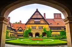 Cecilienhof宫殿在德国 库存照片