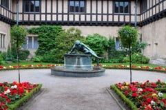 Cecilienhof宫殿是一个宫殿在波茨坦 图库摄影