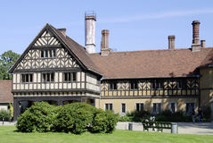 Cecilienhof castle in Potsdam Royalty Free Stock Image