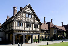 Cecilienhof castle in Potsdam Royalty Free Stock Images