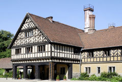 Cecilienhof castle in Potsdam Stock Photography