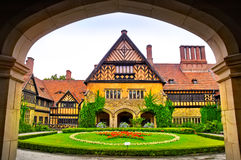 Cecilienhof Palace in Germany Stock Photos