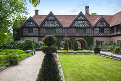 Cecilienhof Palace and its surroundings, Potsdam, Berlin Royalty Free Stock Images