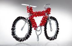 Cecina, леггорн, Тоскана - велосипед построенный в artisanal пути Стоковая Фотография RF