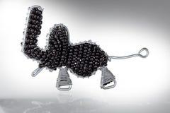 Cecina, леггорн, Тоскана - слон построенный в artisanal пути Стоковые Изображения