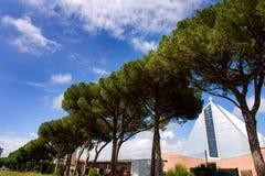 Cecina, Livourne, Toscane - Chiesa Santa Famiglia Photos libres de droits