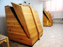 Cedar barrel sauna Stock Photography