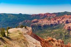 Cedar Breaks National Monument i Utah Royaltyfria Bilder