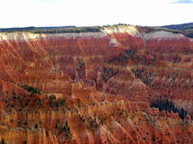 Cedar Breaks National Monument landscape Royalty Free Stock Photo