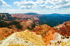 Cedar Breaks National Monument. Overlook Royalty Free Stock Photography