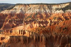 Cedar Breaks National Monument Sunset royalty free stock image