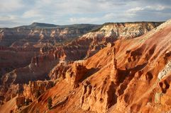 Cedar Breaks National Monument Sunset royalty free stock photography