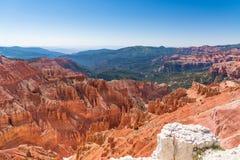 Cedar Breaks National Monument in Utah Royalty-vrije Stock Foto's