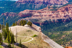 Cedar Breaks National Monument in Utah stock photos
