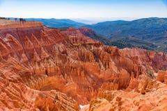 Cedar Breaks National Monument in Utah royalty free stock photography