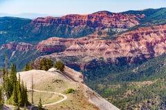 Cedar Breaks National Monument in Utah stock images