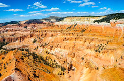 Cedar Breaks National Monument. Valley Stock Images