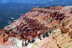 Cedar Breaks National Park. royalty free stock photography
