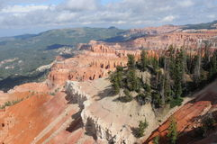 Cedar Breaks Utah Immagine Stock