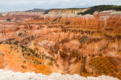 Cedar Breaks view point Royalty Free Stock Image