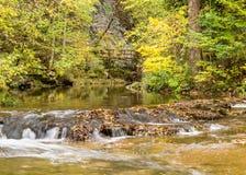 Cedar Creek, естественный мост, VA Стоковая Фотография RF