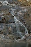 Cedar Creek 1. Waterfall into one of Cedar Creeks rockpools Royalty Free Stock Image