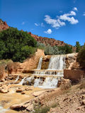 Cedar Creek. Photo is of the Cedar Creek falls in Cedar City, Utah Royalty Free Stock Images