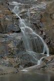 Cedar Creek 2. Waterfall into one of Cedar Creeks rockpools Stock Photography