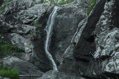 Cedar Creek Falls na montagem Tamborine Fotos de Stock