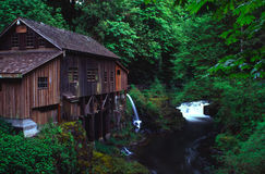 Cedar Creek grist mill Royalty Free Stock Images