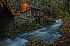 Cedar Creek Grist Mill Fotos de Stock