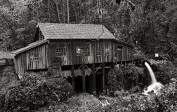 Cedar Creek Grist Mill, 1876 fotografia stock libera da diritti